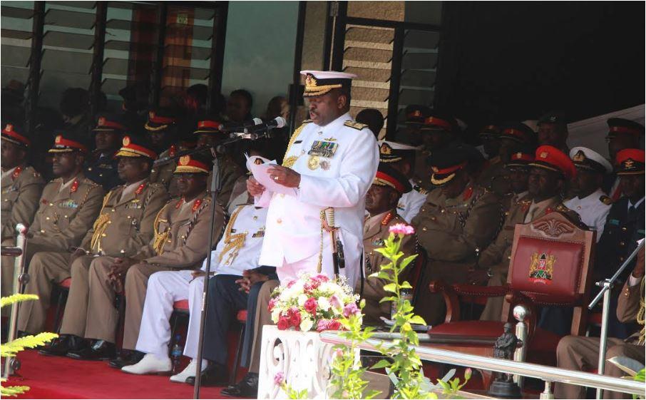 Mwathethe awataka waliofuzu KMA kujizatiti kuifaa nchi