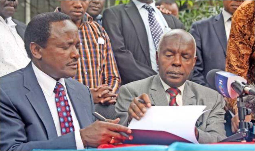 Wiper yaanza mbinu za kumwadhibu Kibwana