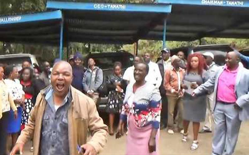 Mgomo sasa watatiza huduma nyingi kaunti