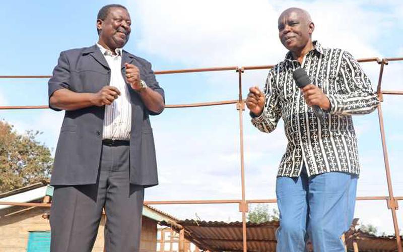Mudavadi anyemelea Kibwana kuhusu 2022