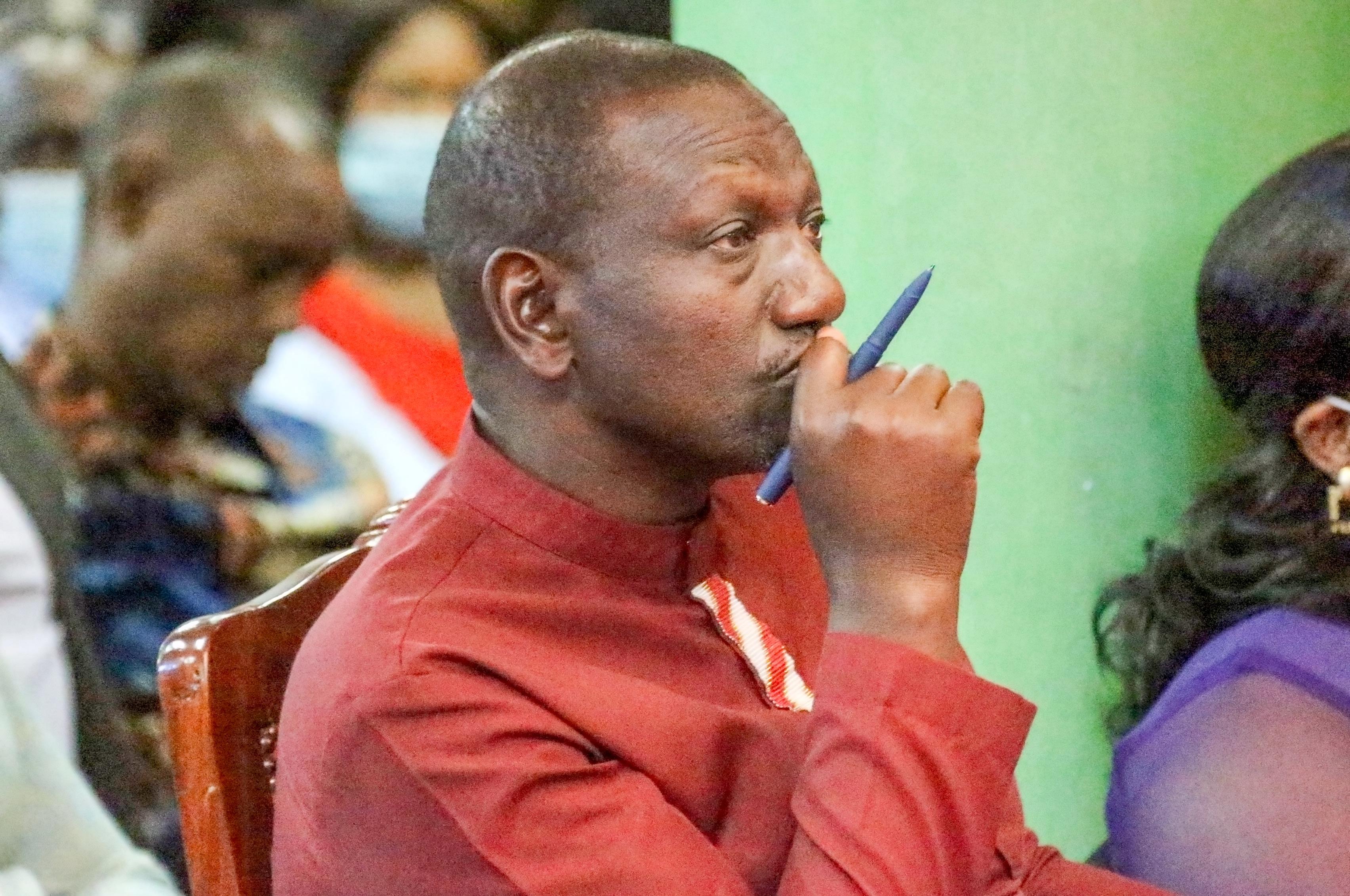 Mbinu za kuzima Ruto Mlimani zaanza kusukwa
