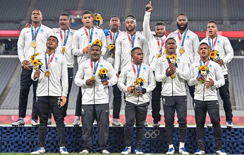 Fiji wahifadhi nishani ya dhahabu kwenye raga ya Olimpiki