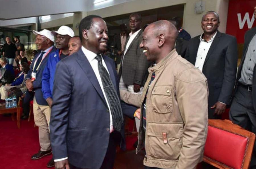 Siwezi kufanya kazi na Raila, Ruto asema