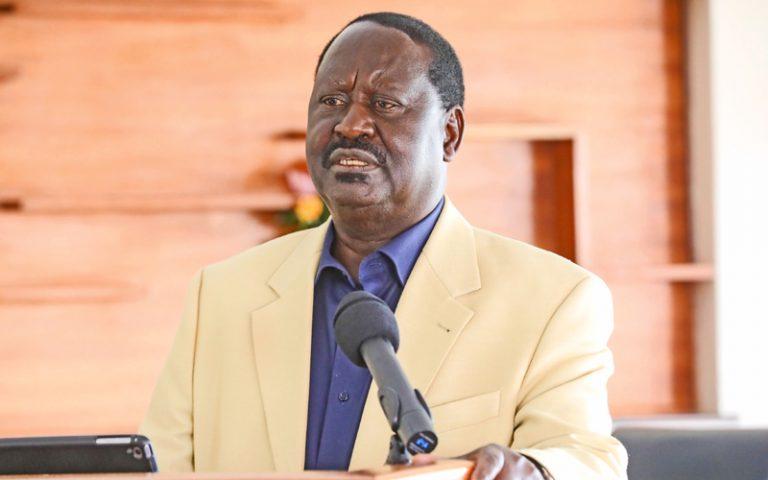 Tope la Jubilee latesa Raila
