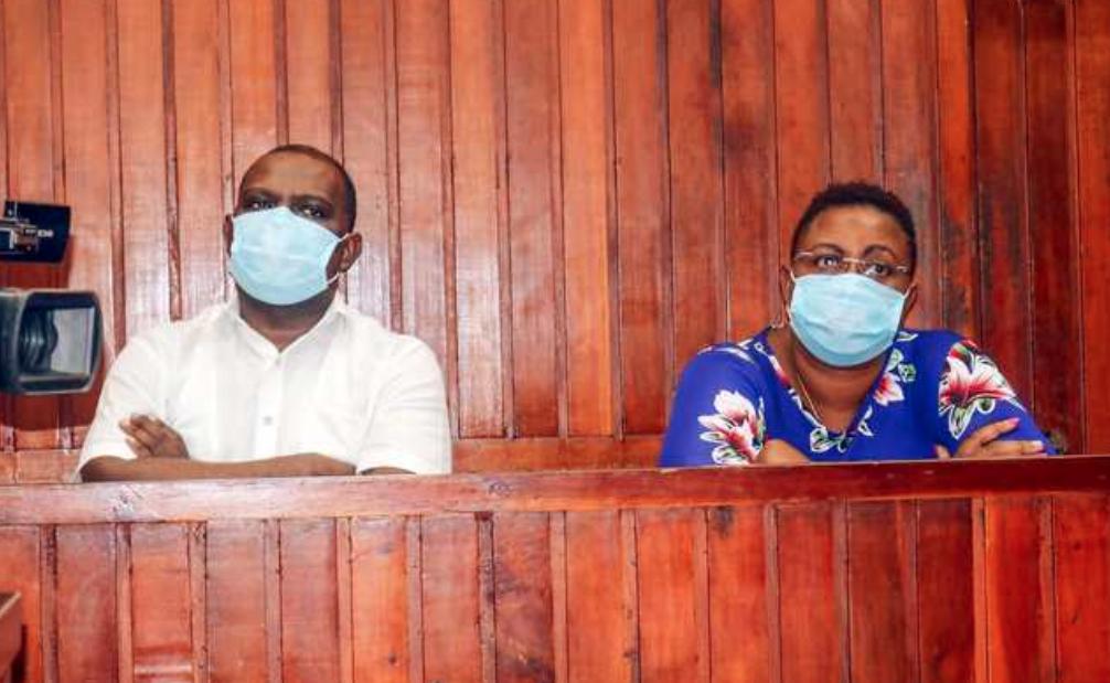 Yaibuka Ruto aligawia Jumwa GSU wawili ilhali ana kesi