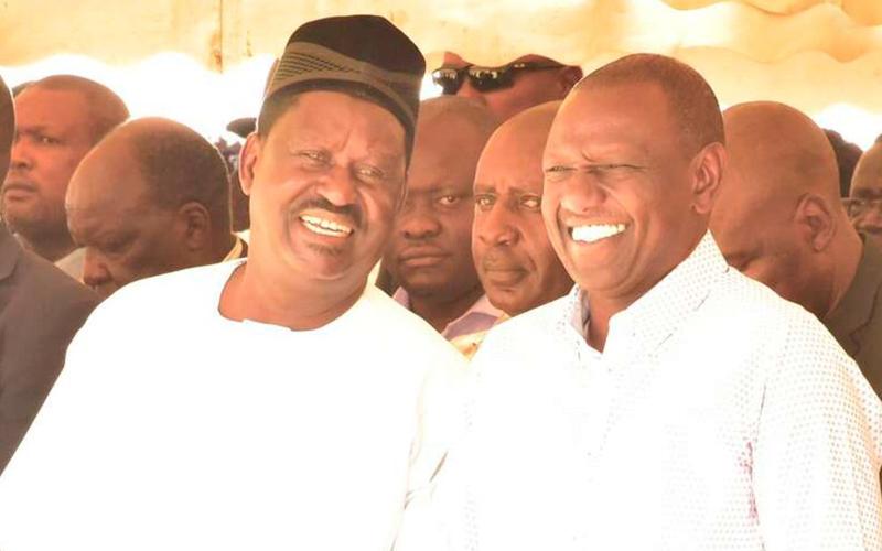 Majemedari wa Raila sasa waanza kumnadi Magharibi