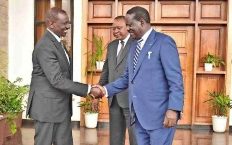 Mlima wateleza kwa Ruto, Raila
