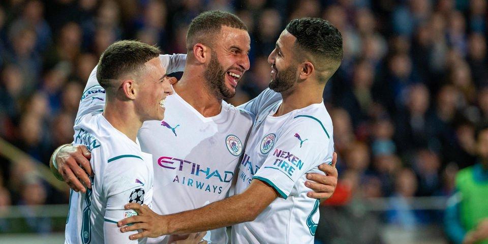 Man-City wang'aria Club Brugge huku chipukizi Cole Palmer akiweka rekodi ya ufungaji katika soka ya UEFA