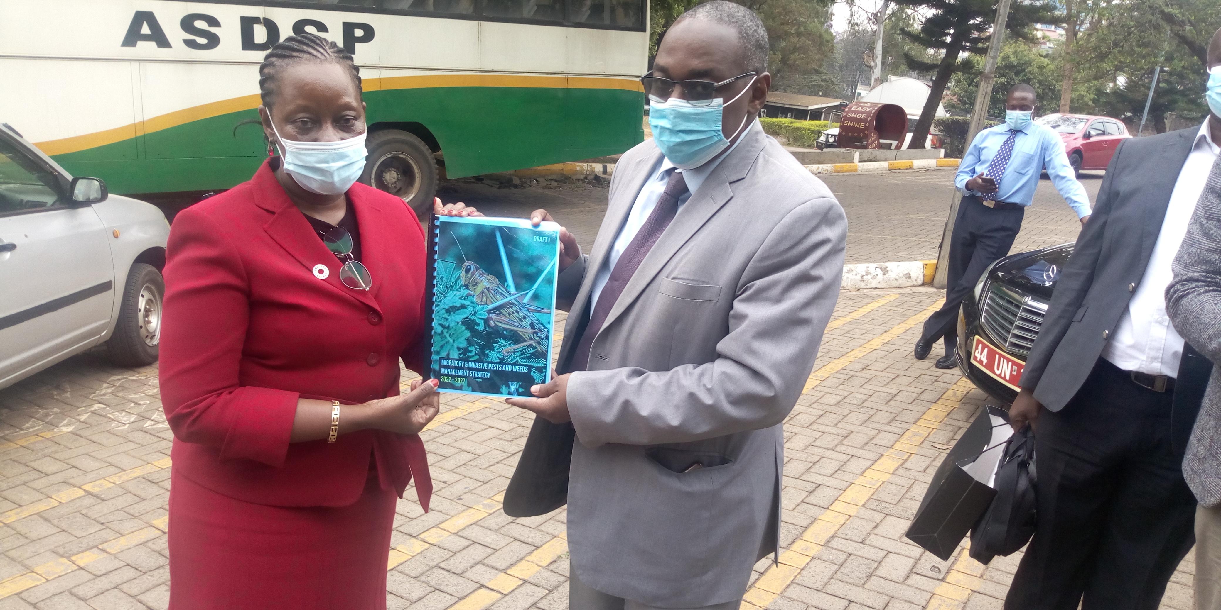 Serikali yashirikiana na FAO kuibuka na mpango maalum kukabili wadudu waharibifu wa mimea
